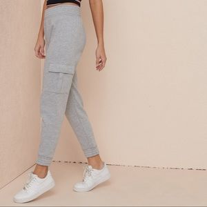 Super comfortable grey joggers with pockets